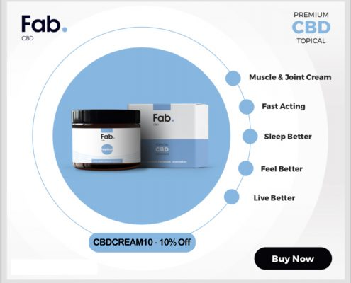 Our top choice for cbd cream for back pain